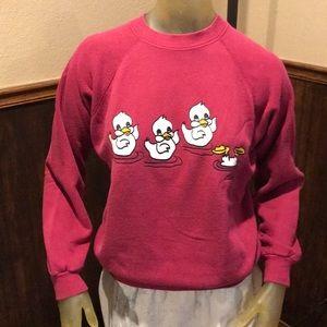 YES! Vintage Little Ducks 🦆 Bottoms Up Sweatshirt